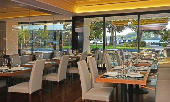 Salo' du Parc Hotel: ristorante