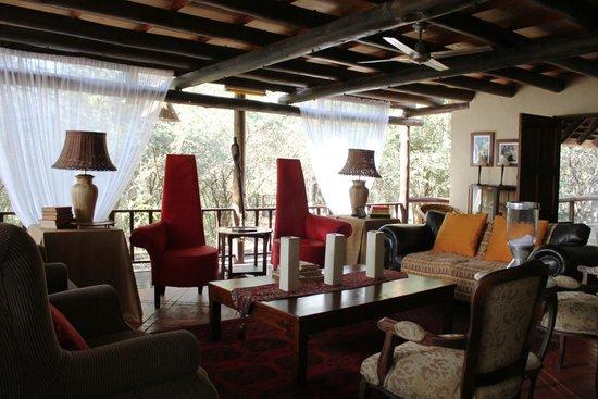 Maqueda Lodge: Lounge area