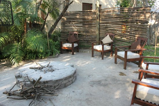 Maqueda Lodge: Fire pit