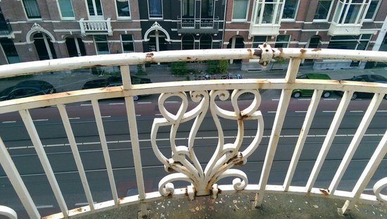 Park Plaza Vondelpark, Amsterdam: Balkon