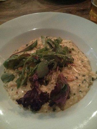 Beach & Barnicott: Crab risotto - excellent