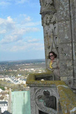 Cathédrale de Chartres : Proof I climbed all the stairs!