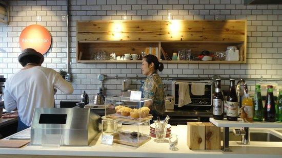 Vermillion - espresso bar & info. : Nice counter