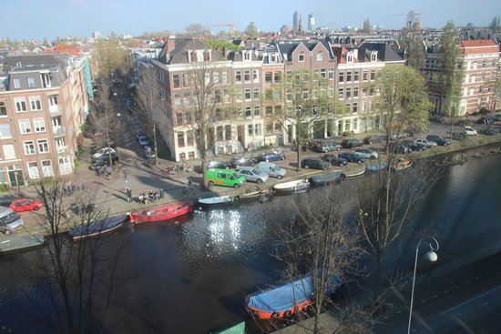 NH Amsterdam Centre: View from hotel room