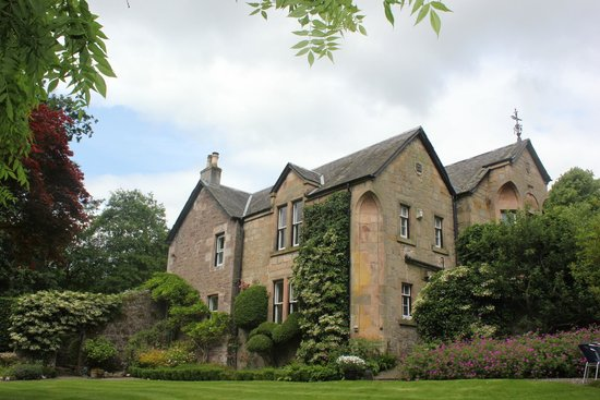 Glenardoch House viewed from the grounds