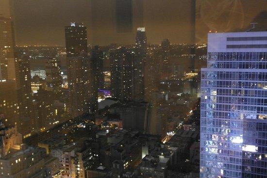 W New York - Times Square: Vue de notre chambre sur Manhattan