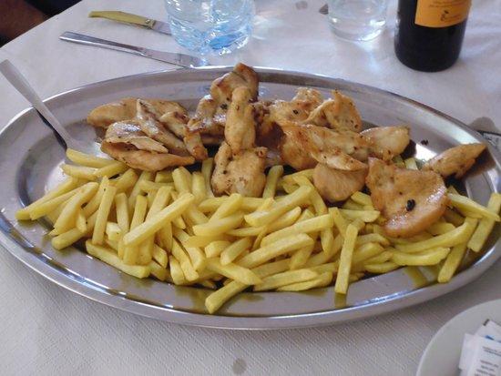 H2 Oviedo: pechugas de pollo con patatas