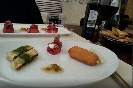 Il Caminetto Ristorante : piatto degustazione