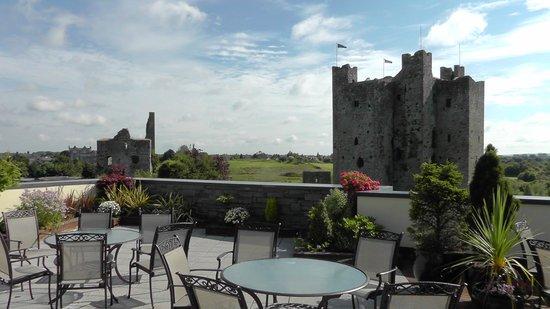 Trim Castle Hotel: Blick von der Dachterrasse