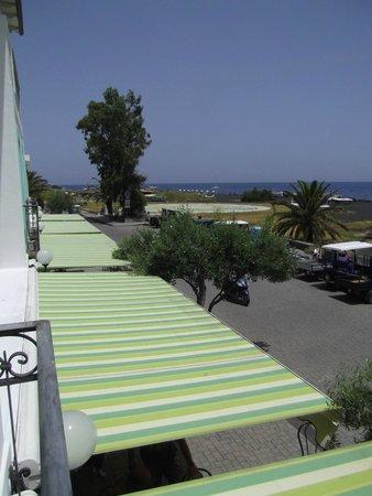 Hotel Ossidiana Stromboli : View from the room