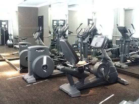 Manhattan Hotel: Hotel gym. FREE of charge for guests to use and open 24hr