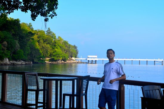 Amari Phuket: View from the pool area
