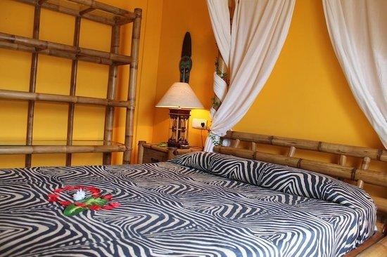 L'Hotelet: Habitación tematizafa Africana