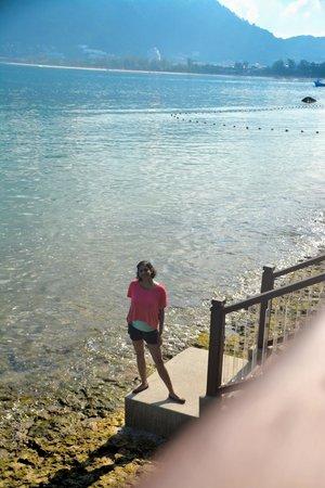 Amari Phuket: Steps to the reef