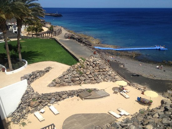 "The ""beach"" - Picture of Hesperia Lanzarote, Puerto Calero ..."