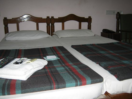 Dhanyasree Inn: Beds