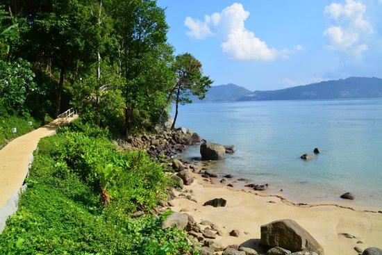 Amari Phuket: View from the path to the jetty