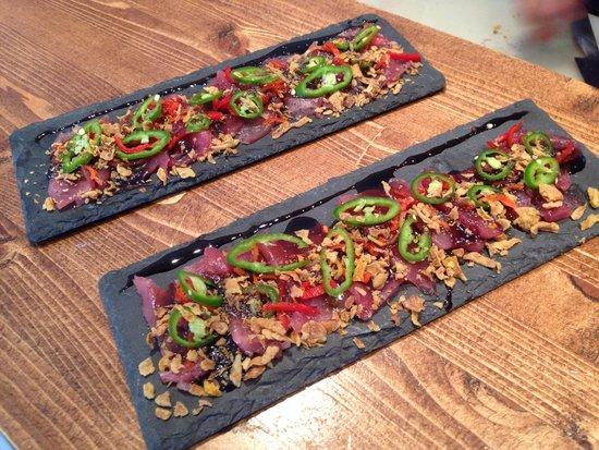 Saline Ceviche Bar : Sashimi Saline style !