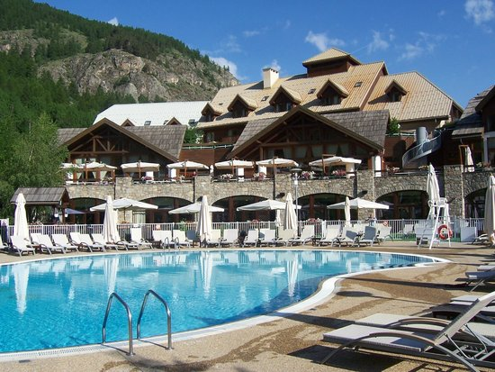 Club Med Serre-Chevalier: Piscine du Club