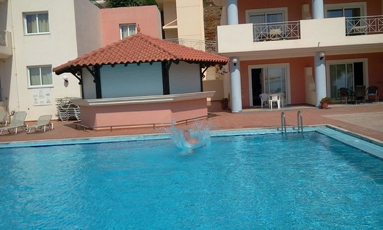 Balos Beach: parte piscina