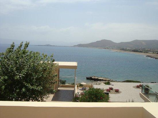 Balos Beach: veduta dalla sala comune