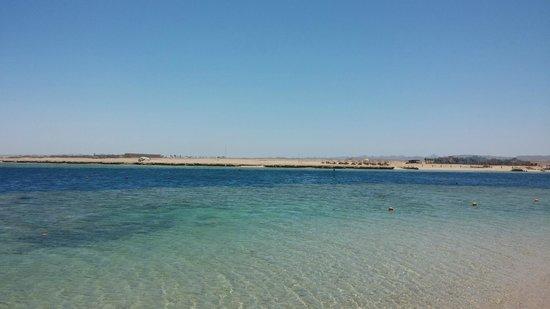 The Palace Port Ghalib : Beach