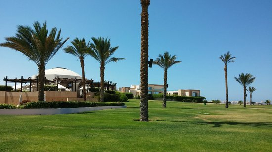 The Palace Port Ghalib : Hotel grounds