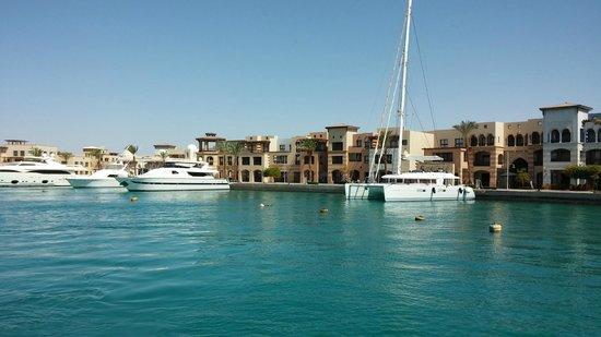 The Palace Port Ghalib : Port Ghalib marina