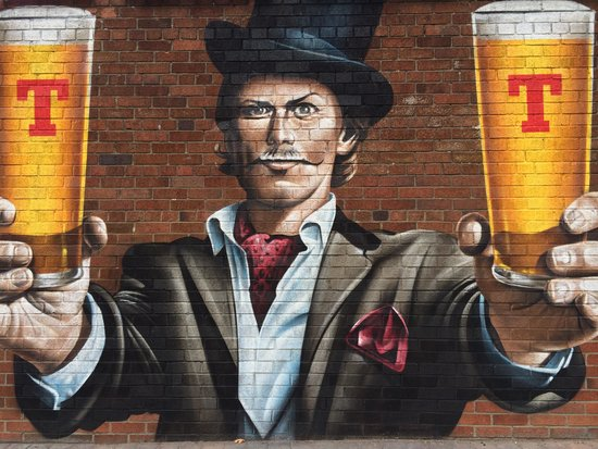 Tennents Wellpark Brewery: Getting our vitamin T