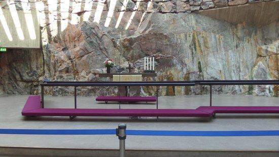 Iglesia de Piedra: Altar