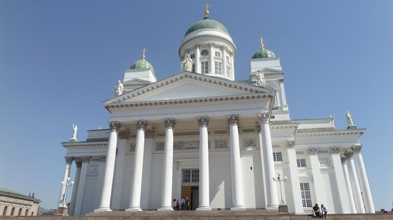 Helsinki Cathedral: Exterior
