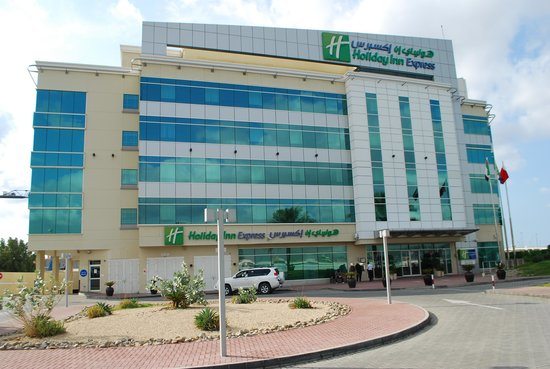 Holiday Inn Express Dubai Airport : Внешний вид отеля