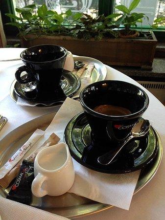 Villa Voyta Hotel & Restaurant: Кофе