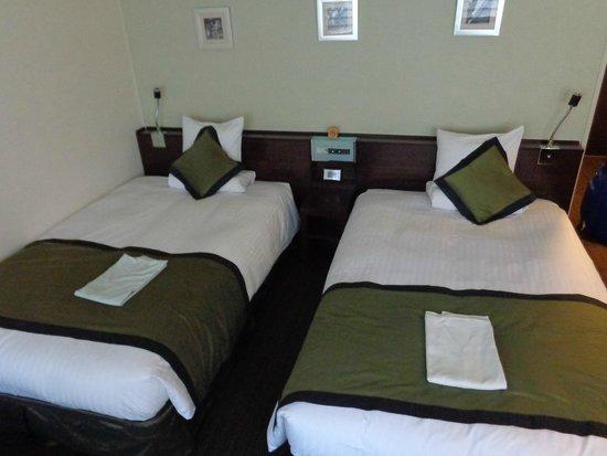 Hotel MyStays Ochanomizu : beds