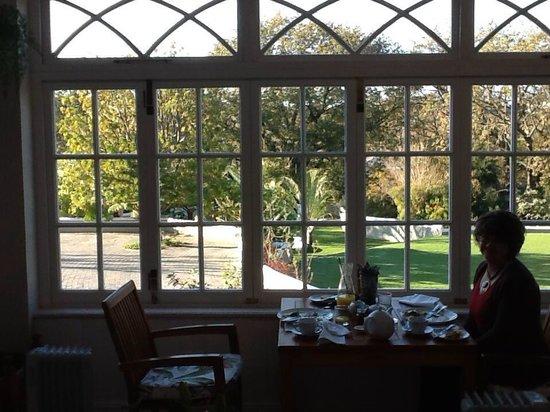 Schoone Oordt Country House: View from breakfast