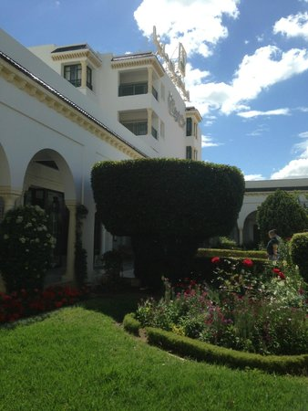 El Mouradi Palm Marina : Patio entrée