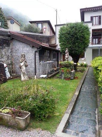 Il Giardino Botanico Bed and Breakfast : Pezzo di giardino !