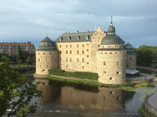 Elite Stora Hotellet : View from our room's window