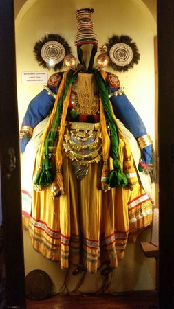 Kerala Folklore Museum: Traditional Dresses on display