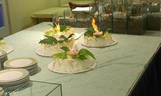 Hotel  Providence Terme & Spa: Al ristorante!