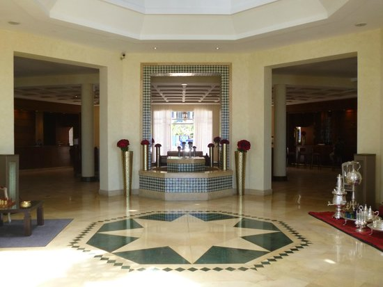 Le Medina Essaouira Hotel Thalassa Sea & Spa - MGallery by Sofitel-: Le hall de l'hôtel