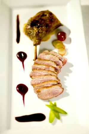 Le Bistro: duo of duck