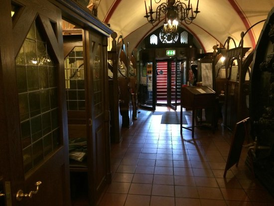 Ratskeller: het restaurant met de verschillende hokjes