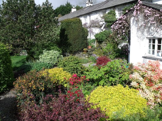 Wheelgate Bed & Breakfast: The garden at Wheelgate