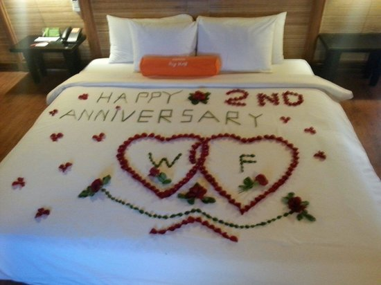 HARRIS Resort Batam Waterfront: Flower decoration