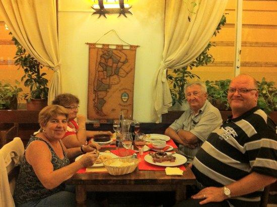 Restaurante EL Gaucho : mon ami maurice ne veut plus partir