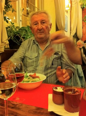 Restaurante EL Gaucho : maurice se regal