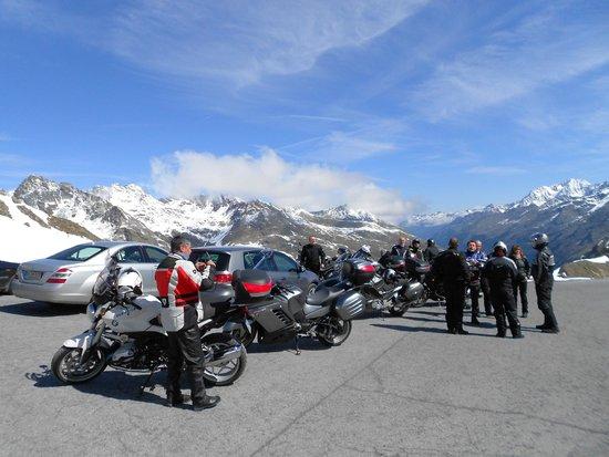 Kaunertaler Gletscher: Vue de la direction pour redescendre.