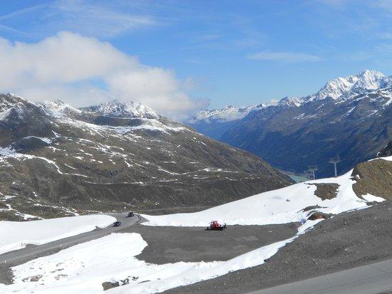 Kaunertaler Gletscher: Quelques petits lacets.