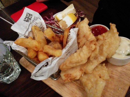 Five Stags Hanmer Springs: Fish n Chips
